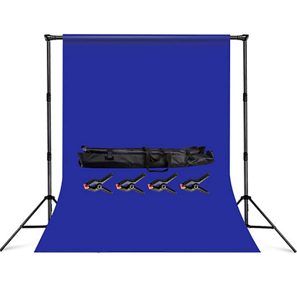 背景スタンド 肖像画、製品写真撮影およびビデオ撮影のための青い背景を持つW3XH2.88M背景スタンドサポートシステム (サイズ さいず : 3x6m Background cloth) 3x6m Background cloth  B07MNYKP52