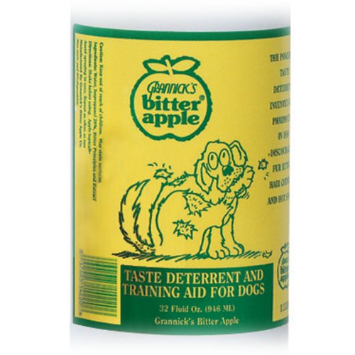 Amazon.com : Grannicks Bitter Apple Dog Chew Deterrent, 32 Ounce : Pet  Deterrent Sprays : Pet Supplies
