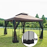 Best Gazebos - FDW 12'X 10' Outdoor Gazebo Steel frame Vented Review