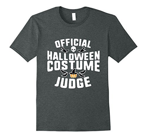Mens Official Halloween Costume Judge Holiday T-Shirt 2XL Dark Heather