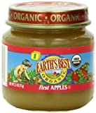 Earth's Best Organic Baby Food, First Apples, 2.5 Ounce (Pack of 12)