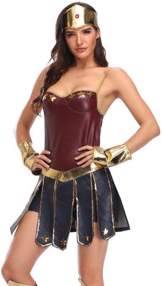 CHY Disfraz De Cosplay Wonder Woman Disfraz De Cosplay Disfraz De ...
