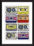 Beastie Boys Albums - Retro Cassette Artwork - Unframed Print - Ideal Gift