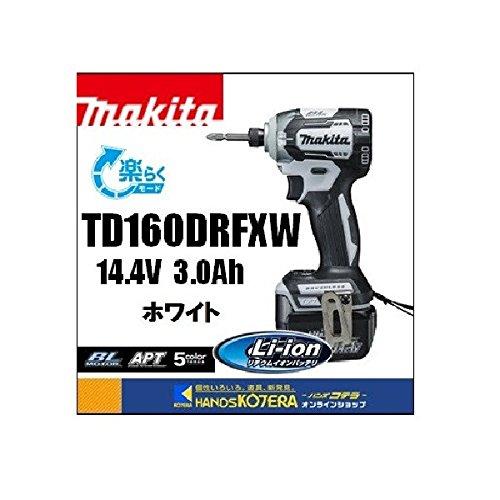 マキタ TD160DRFXW 充電式インパクトドライバ 白 14V 3.0Ah B01BW8RM0Y 白 白