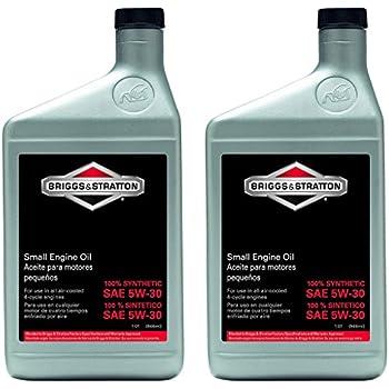 Amazon.com: Aceite para motor 100005 SAE 30 W de Briggs & ...
