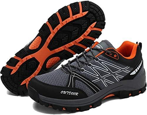 ハイキングシューズ 大きいサイズ メンズ 通気性 防滑 メッシュ 防水 トレッキングシューズ 大きいサイズ 耐磨耗 登山靴 衝撃吸収 スポーツ 耐久性のある