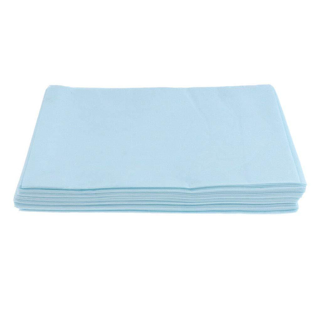 Massage steril 10 St/ück blau Verlike Einweg-Bettw/äsche medizinisch f/ür Salon