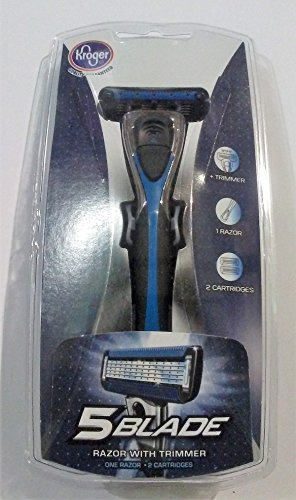 5-blade-razor-with-trimmer-1-razor-2-cartridges