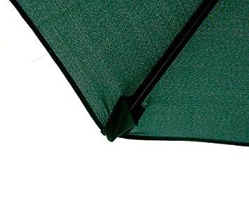 MTN Gearsmith New 9 FT Market Patio Garden Umbrella Replacement Canopy Canvas Cover Green