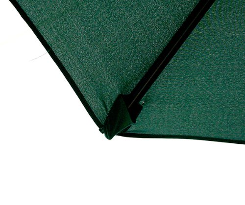MTN Gearsmith New 9 FT Market Patio Garden Umbrella Replacement Canopy Canvas Cover Green