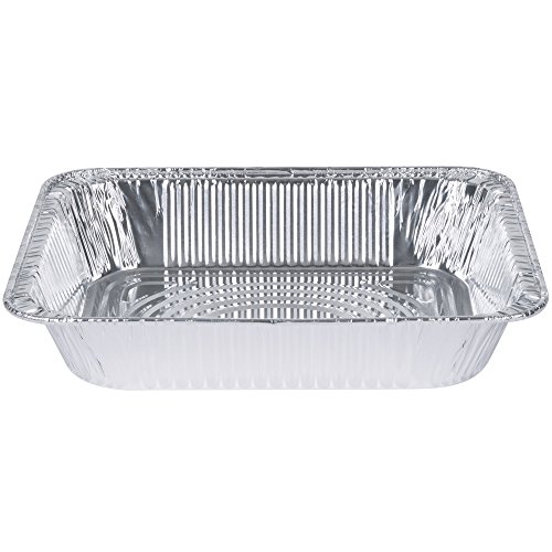 [30 Pack] 9 x 13 Aluminum Foil Pans Half Size Deep Steam Table Pans by Comfy Package (Image #1)