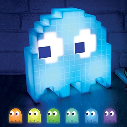Pac-Man Ghost Light. Features colour changing mood, light which can be set to change in time to music.