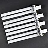 BestOfferBuy 4x 9W UV Lamp Light Bulb Tube Curing H-Shape Replacement