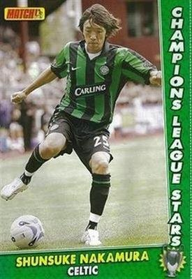 huge discount 69ba1 1bef7 MATCH football magazine Celtic SHUNSUKE NAKAMURA Carling ...