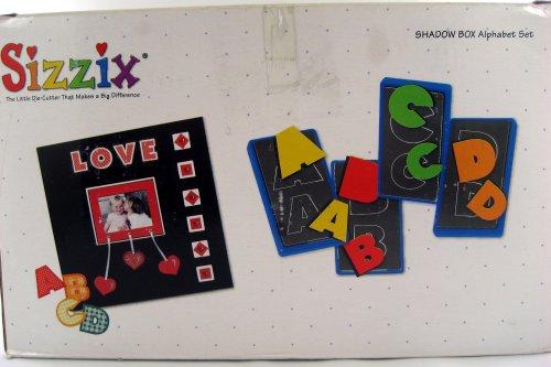 - Shadow Box Alphabet Set - Sizzix