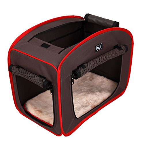 Petsfit 27x18x22 Portable Pop Open Cat Kennel,Cat Cage,Dog Kennel,Cat Play Cube,Lightweight Pet Kennel by Petsfit