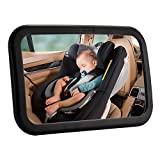 Favoto Baby Rearview Mirror Facing Infant Child Backseat Safety Monitor Clear Reflection Car SUV MPV Vehicle