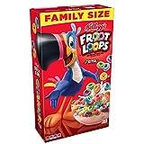 Kellogg's Froot Loops, Breakfast Cereal, Original, Good Source of Fiber, Family Size, 19.4 oz Box