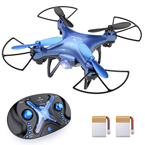 SNAPTAIN SP310 Mini Drone for Kids, Portable Pocket RC Quadcopter for Beginners w/Throw to Go, 3D Flips, Altitude Hold, Headless Mode, Speed Adjustment and One Key Return