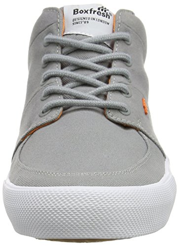 Boxfresh Herren Amhurst Low-Top Grey (Griffin Grey)