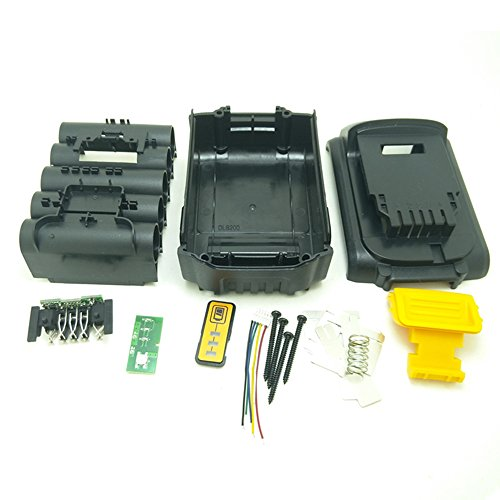 - Battery Replacement Plastic Case For DeWalt 20V DCB201,DCB203,DCB204,DCB200 18V Li-ion Battery Cover Parts for 3A 4A 5A