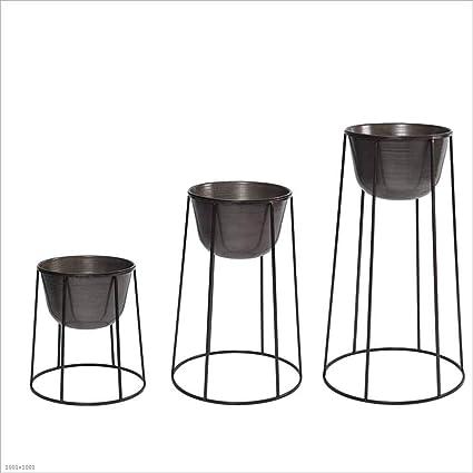 d80b7a8a10866 Amazon.com : IRVING Plant Stand - Flower Pot, Metal Indoor Planter ...