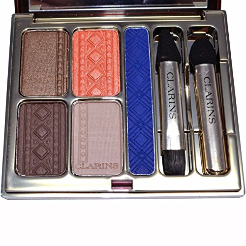 Clarins Colours of Brazil Eye Quartet & Liner Palette 4.9g/0.1oz (Quartet Eyes For Color Clarins)