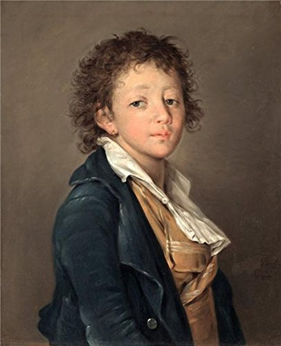 [Oil Painting 'Jacques Louis David,Portrait Of A Boy,1799', 24 x 30 inch / 61 x 75 cm , on High Definition HD canvas prints is for Gifts And Bar, Dining Room And Home Office] (80s Rock God Costumes)