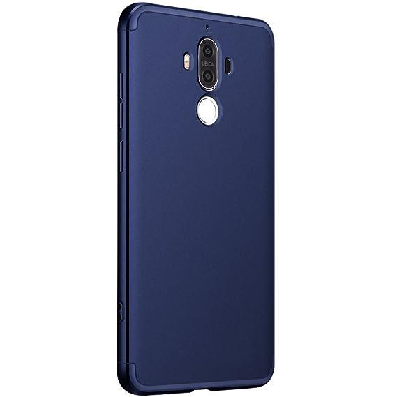 Vanki Funda Huawei Mate 9, 360 Grados Caso Carcasa Cubierta de lujo 3in1 híbrido la cubierta Anti-Arañazos Anti-Choque de la PC para Huawei Mate 9 ...