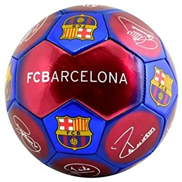 Official FC Barcelona Signature Soccer Ball Size 5 74d23c198e8