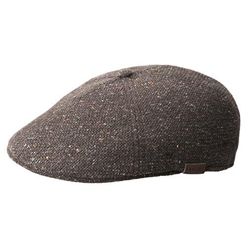 Kangol Pattern Flexfit Baseball Hat, Brown Marl, Large/X-Large