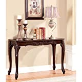 Furniture of America Mariefey Classic Cherry Sofa Table