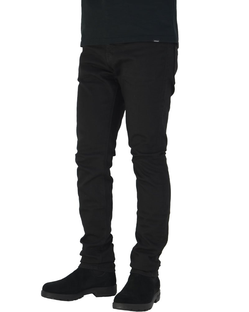 NWT ROCK REVIVAL JEANS Mens Josef J200 Faux Flap Dark Straight Leg Stretch Jean