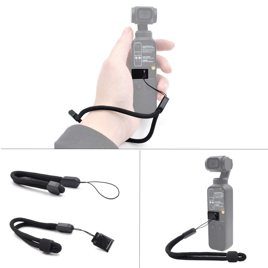 Haoun DJI OSMO ポケット用アクセサリー, 163663898615 B07NS81MGP  Handheld Hang Buckle