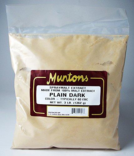 Munton's Dark Dry Malt Extract (3LB) - Muntons Dry Malt Extract