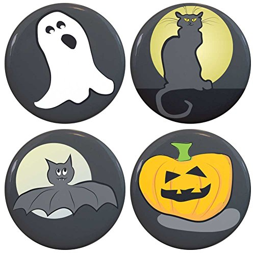 Buttonsmith Halloween Tinker Top Set to use with Tinker Reel badge reel - Made in USA