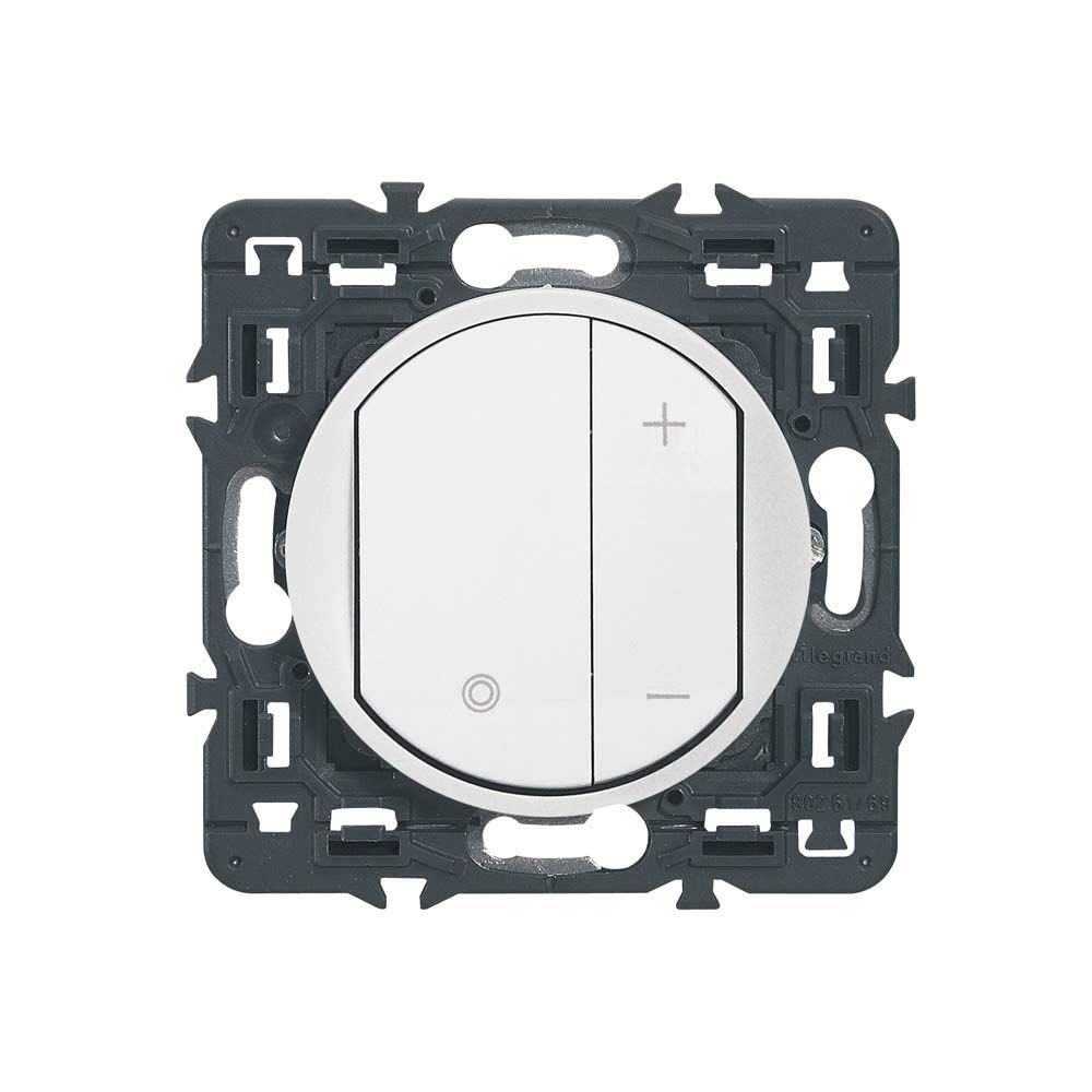Legrand 099906 Celiane 100 /à 240 V Blanc 099906 Interrupteur Variateur lumi/ère Mural