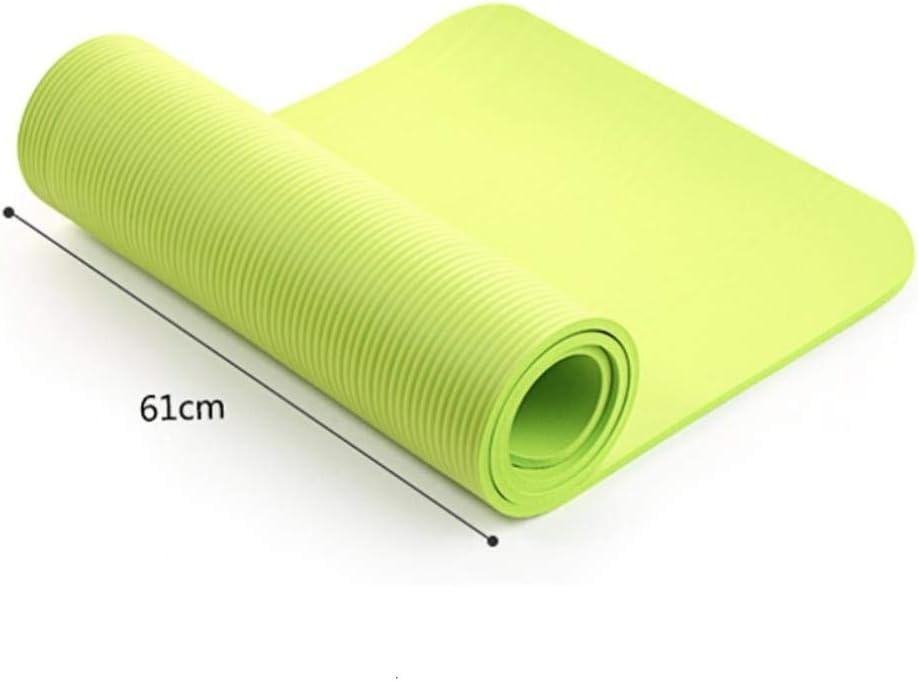 JUN 173cm Yoga Pad Exercice Mat /épais Tapis Anti-d/érapant de Fitness Pliant Gym Pilates Accessoires 0.4cm Tapis de Sol antid/érapant Jeu,Rose