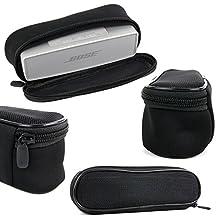 Housse de transport noire pour Bose SoundLink Mini Enceinte portable Bluetooth - étui épais et protecteur DURAGADGET