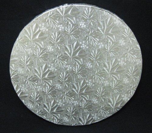 Cake Fold Under Board - Cake Fold-Under Board, Round, Silver, 1/2