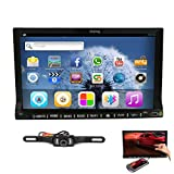 Pupug 7 inch Screen Mirroring Android 4.2 In Dash Double Din HD Capacitive Multi-touch Screen Car DVD Player Stereo GPS Navigation Support Bluetooth/SD/USB/FM/AM Radio/DVR/1080P/3G/Wifi/AV-IN