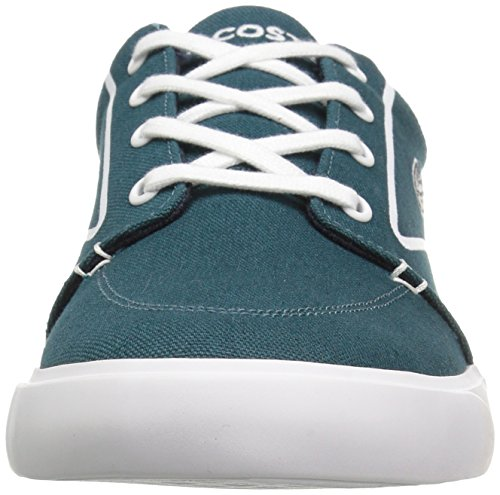 Lacoste Hombres Bayliss Vulc 317 3 Verde Oscuro / Blanco
