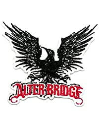 Alter Bridge Iron On Patch Applique DIY Denim Bag Jacket Vest Hard Rock Heavy Metal Punk Rock Hardcore Thrash Band Music Sew Iron On Patch