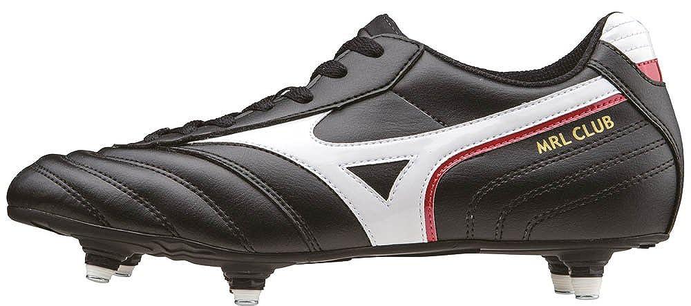 Mizuno Herren MRL Club SI Fußballschuhe, schwarz Weiß ROT