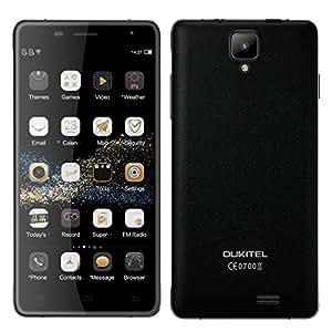 OUKITEL K4000 PRO Android 5.1 4600mAh Battery 2GB RAM+16GB ROM 13MP Camera 4G Smartphone with OTG Function (Black)