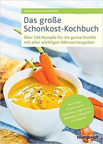 Schonkost-Kochbuch