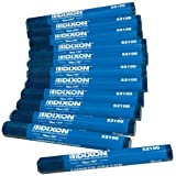Dixon 52100 Industrial Lumber Crayon - Blue - 12 per Package