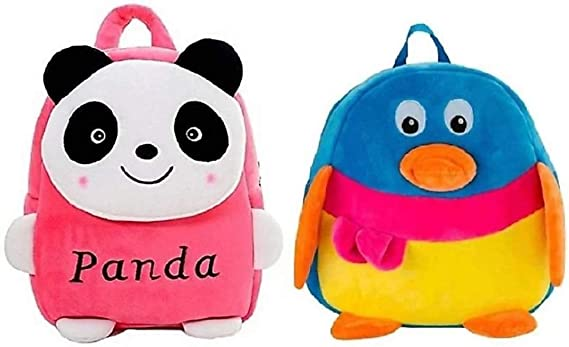 PRACHI TOYS Kids School/Nursery/Picnic/Carry/Travelling Bag - (Pack of 2)