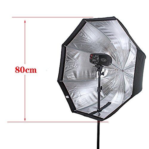 "SUPON Professional Photo 80cm / 31.5"" Octagon Umbrella Flash Softbox Brolly Reflector"