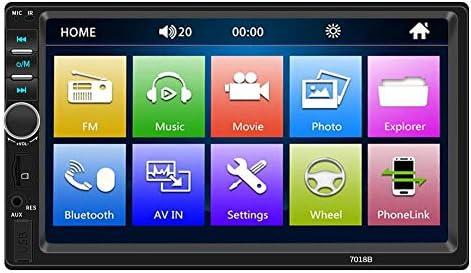 7018Bカーラジオ7インチダッシュオーディオMP5プレーヤー1080Pリアビュー(カメラ付)